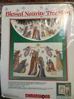Dimensions Cross Stitch Kit BLESSED NATIVITY TREE SKIRT 8379 Sealed