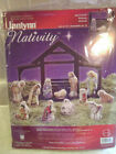 Janlynn Counted Cross Stitch Kit 023 0520 Nativity Set of 12 Figures New