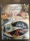 VINTAGE Weight Watchers Healthy Busy People 1999 Cookbook Recipes Cooking