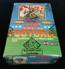 1989 SCORE FOOTBALL UNOPENED WAX BOX BBCE FASC FROM A SEALED CASE FREE SHIPPING