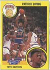 1991 Patrick Ewing New York Knicks Card Starting Lineup SLU NBA Basketball