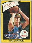 1990 Tom Chambers San Diego Clippers Card Starting Lineup SLU NBA Basketball