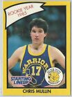 1990 Chris Mullin Golden State Warriors Card Starting Lineup SLU NBA Basketball