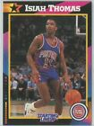 1992 Isiah Thomas Detroit Pistons Card Starting Lineup SLU NBA Basketball