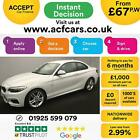 2015 WHITE BMW 218i 15 T M SPORT PETROL AUTO 2DR COUPE CAR FINANCE FR 67 PW