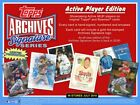 2018 Topps Archives Baseball Signature Series Sealed Hobby Box ACTIVE PLAYER