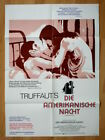 TRUFFAUT Day For Night German 1 sheet poster JAQUELINE BISSET La Nuit Americaine