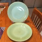 """ Ribbed Dinner Plates Each Marked"