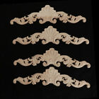Wooden Carved Decal Furniture Appliques Frame Wall Door Mirror Cabinet Decor