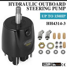 Helm Hydraulic Outboard Steering Pump HH4314 3 HH4314 Helm Kit Controls