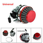 Carburetor Carb Air Filter Device For80cc Motorized Bicycle Engine Motor Kit Red