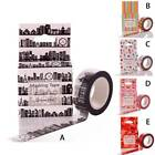 Washi Tape Masking Paper Scrapbook Decorative DIY Sticker Adhesive Tape Roll