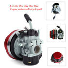 Carburetor Carb Red Air Filter For 49cc 80cc Motorized Bicycle Engine Motor