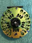 Abel Super 11 Fly Reel With Reel Pouch And Box  Dorado Finish