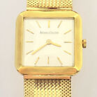 VTG LECOULTRE 18K CASE ON 14K GOLD BAND MECHANICAL WIND UP WATCH 18 JEWELS