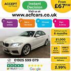 2016 WHITE BMW 230i 20 T M SPORT PETROL AUTO 2DR COUPE CAR FINANCE FR 67 PW