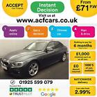 2016 GREY BMW 330D 30 M SPORT DIESEL AUTO 4DR SALOON CAR FINANCE FR 71 PW