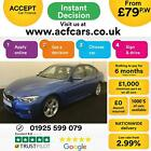 2017 BLUE BMW 330D 30 M SPORT DIESEL AUTO 4DR SALOON CAR FINANCE FR 79 PW