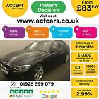2017 BLACK BMW 330D 30 M SPORT DIESEL AUTO 4DR SALOON CAR FINANCE FR 83 PW