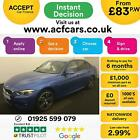2017 BLUE BMW 335D 30 XDRIVE M SPORT DIESEL AUTO SALOON CAR FINANCE FR 83 PW