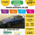 2016 BLUE BMW 420i GRAN COUPE 20 T M SPORT PETROL AUTO CAR FINANCE FR 75 PW