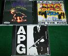 A.P.G. Crew, 3 CDs: 1989 On The Rise, 1991 Oaktowns Finest, 1998 See The Light