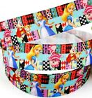 7 8 2 YARDS Alice in Wonderland Grosgrain Ribbon Scrapbooks Crafts Bows Cards