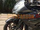 BMW K1300S Upper Fairing Air Intakes Covers Twill Carbon Fiber GLOSSY