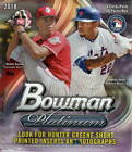2018 Bowman Platinum Baseball Box w 2 Autographs!!!