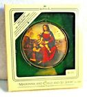 Hallmark Vtg 1984 Madonna & Child & St. John 1st in Art Masterpiece Series NIB