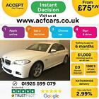 2016 WHITE BMW 535D 30 M SPORT DIESEL AUTO 4DR SALOON CAR FINANCE FR 75 PW