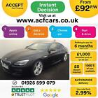 2016 BLACK BMW 640D GRAN COUPE 30 M SPORT DIESEL AUTO 4DR CAR FINANCE FR 92 PW