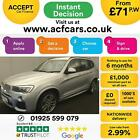 2015 SILVER BMW X3 20 XDRIVE20D M SPORT DIESEL AUTO ESTATE CAR FINANCE FR 71PW
