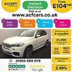 2015 WHITE BMW X5 30 XDRIVE30D M SPORT 7 SEAT DIESEL 4X4 CAR FINANCE FR 104 PW