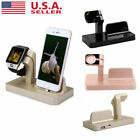 Charging Dock Station Charger Phone Stand For Apple Watch Series 4 3 2 1 iPhone