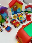 Fisher Price Little People Disney Mickey Mouse House Play set With Extras