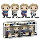 WAYNE GRETZKY FOUR 4 PACK FANATICS EXCLUSIVE - Funko Pop! NHL - IN HAND!!!