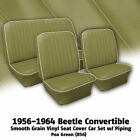 1956-1964 Volkswagen Beetle Convertible Seat Cover Set Woff-white Piping 345106