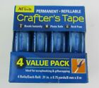 Ad Tech Permanent Crafters Tape 031 by 875 yds 4 Per Package Photo Safe