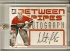 2006-07 ITG Between The Pipes Martin Brodeur First Round Picks SSP Autograph