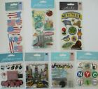 Jolees Boutique Scrapbooking Sticker Lot NEW YORK Stuate of Liberty Time Square