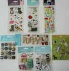 Scrapbooking Stickers Jolees Boutique Lot PETS Animals Dogs Puppy Paws Treats