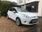 2012 Ford Fiesta Titanium Frozen White 59k 5door