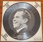NIXON'S THE ONE, EXCERPTS FROM NOMINATION SPEECH 8/8/68, CARDBOARD RECORD  MINT
