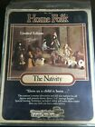 Home Folk The Nativity Vintage 1985 Limited Edition Dolls  Animals  849