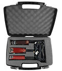 Hair Styling Case Fits Oster , Wahl , Andis and Other Hair Clippers and Trimmers