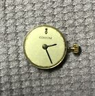 Vintage Corum Watch Movement, Running with Sapphire Crown, Gold Hands