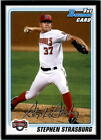 Stephen Strasburg Cards, Rookie Cards Checklist and Autograph Memorabilia Guide 2