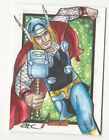 Thor 2012 Marvel Greatest Heroes Avengers Sketch Card by Adam Cleveland 1 1