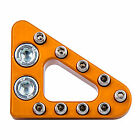 Clean Speed Standard Brake Pedal Pad Orange
